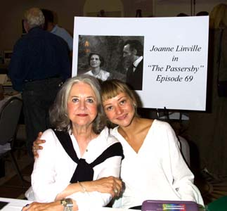 Joanne Linville with daughter, 2002.